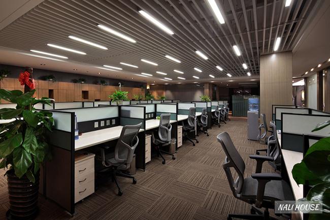 Đèn LED thả trần văn phòng sang trọng, hiện đại
