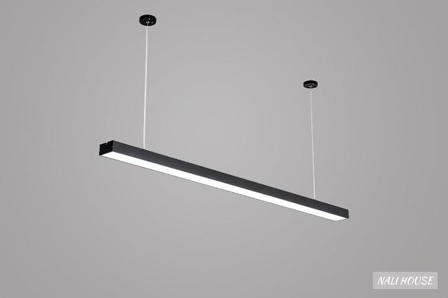 Thiết kế đèn thanh thả văn phòng mang phong cách hiện đại và tinh tế