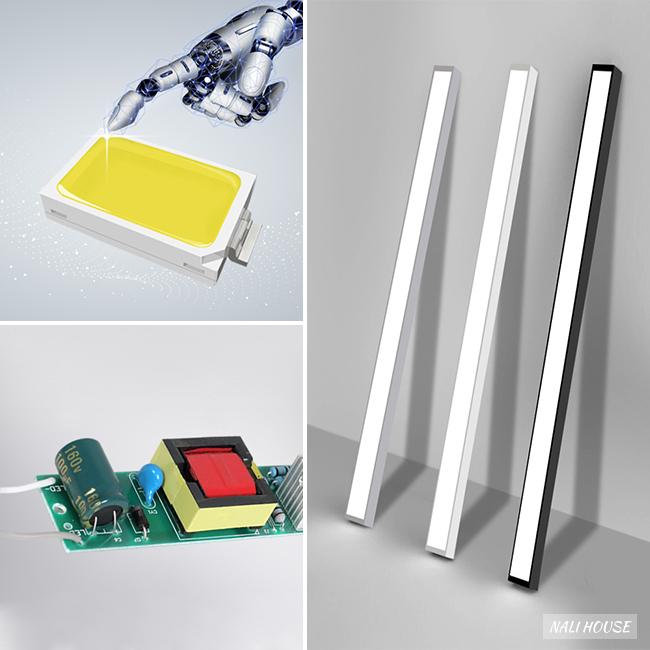 Khung đèn bằng nhôm kết hợp chụp đèn bằng nhựa PVC chất lượng tốt