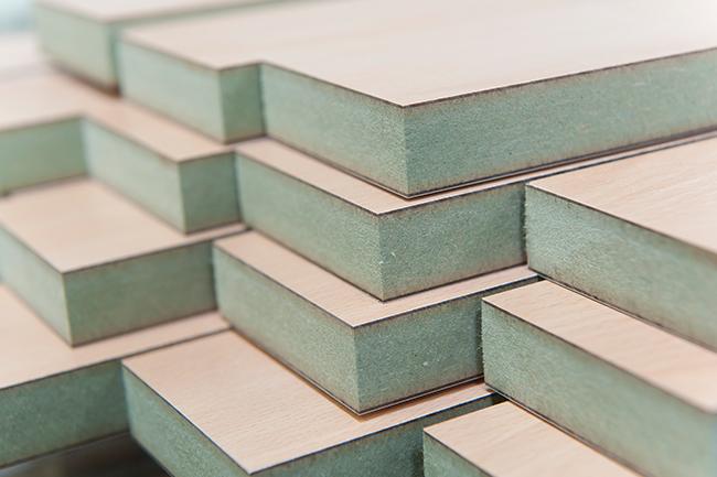 Loại ván gỗ công nghiệp MDF lõi xanh chống ẩm