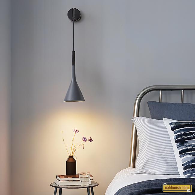 Đèn ngủ treo tường hiện đại phong cách Bắc Âu tinh tế