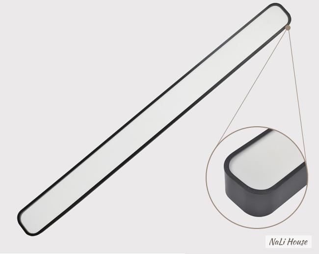 Thiết kế chiếc đèn hình hộp chữ nhật và bo tròn góc cạnh mềm mại