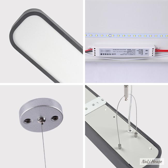 Đèn LED hộp thả trần 1.2m có khung, bát gắn bằng kim loại kết hợp mặt nạ Acrylic trong suốt
