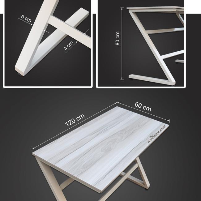 Kích cỡ phổ biến chiếc bàn cá nhân đặt tại nhà