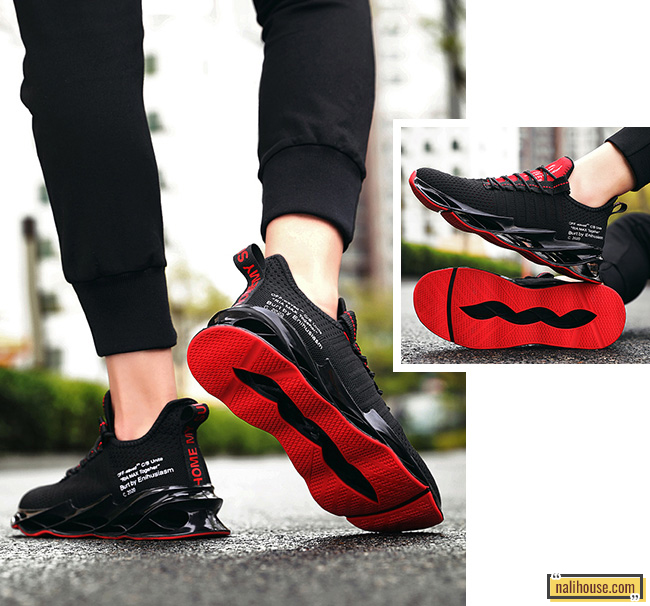 Giày thể thao RMT01 hoàn thiện từ chấ liệu vải dệt và nhựa TPU