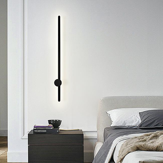 Đèn ngủ treo tường đơn giản, thiết kế kiểu dáng chiếc kim đồng hồ