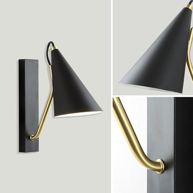Đèn gắn tường đầu giường có thiết kế phong cách tối giản nhưng tinh tế