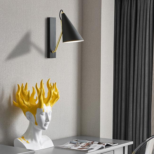 Chiếc đèn phù hợp gắn ở nhiều vị trí trong nội thất