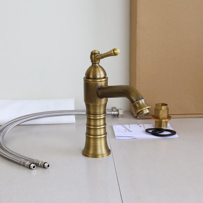 Vòi nước nóng lạnh bồn rửa mặt GCV13 phong cách cổ điển, sang trọng