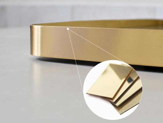 Gương treo tường hình chữ nhật MR10CN có chất liệu bằng đồng thau độc đáo