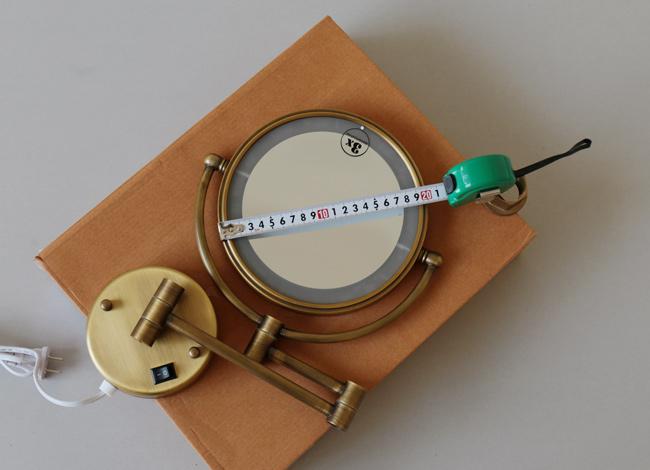 Thông số kích thước của chiếc gương treo toilet GCK18L
