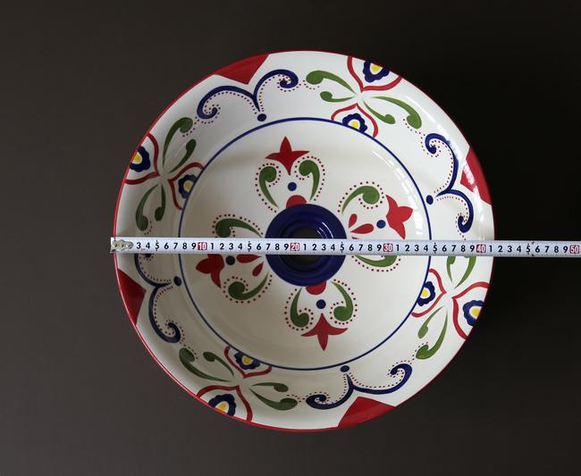 Thông số kích thước bồn rửa tay bằng sứ LP002