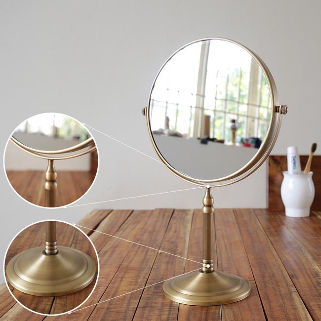 Gương 2 mặt để bàn GCK19 có thiết kế phong cách neoclassical