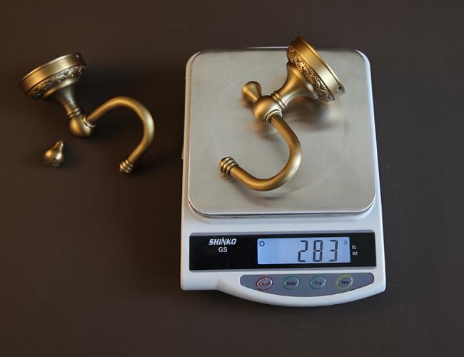 Thông số kích thước của chiếc móc đơn treo đồ vật GCH01N