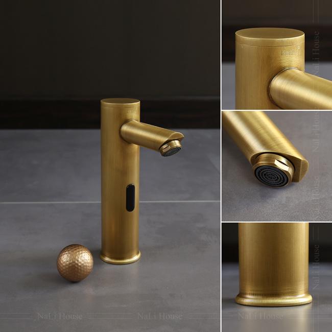 Thiết kế kiểu dáng tinh tế của vòi nước cảm biến IFS01