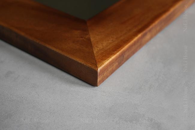 khung gương treo tường bằng gỗ tự nhiên độc đáo