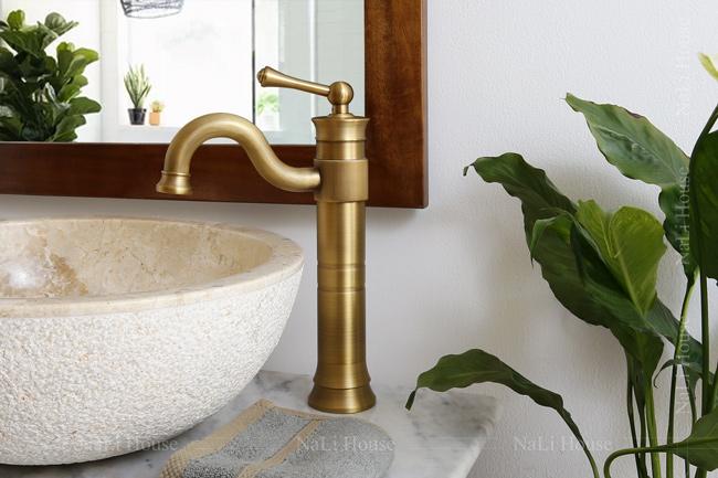 Vòi rửa mặt lavabo phong cách Châu Âu cổ điển