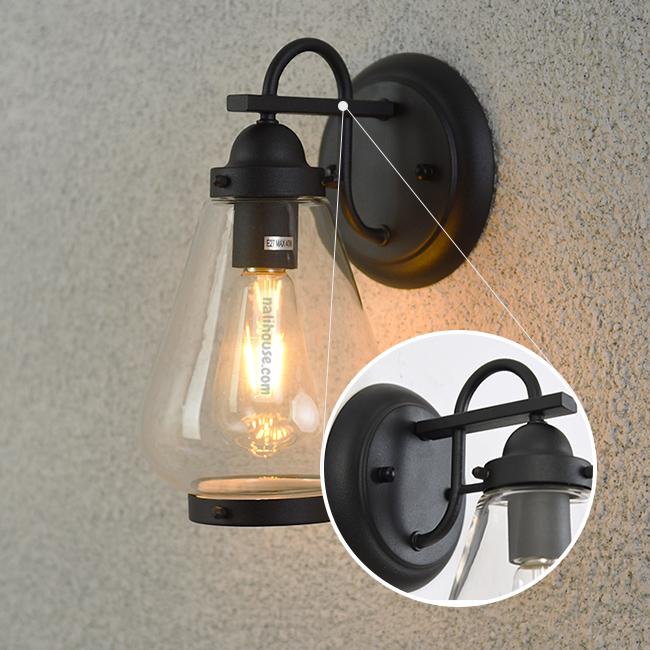 Thiết kế tinh tế đèn chiếu tường ngoài trời