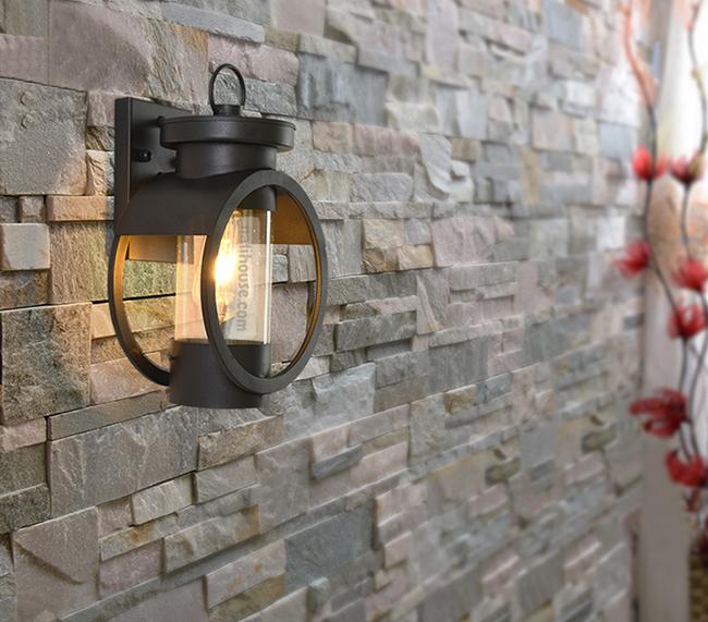 Đèn LED ốp tường ngoài trời DS06 tinh tế, sang trọng