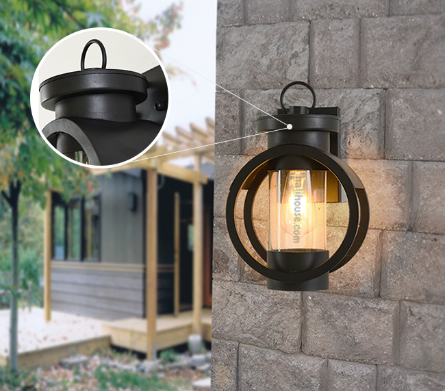 Chiếc đèn có thiết kế đơn giản phong cách Mỹ