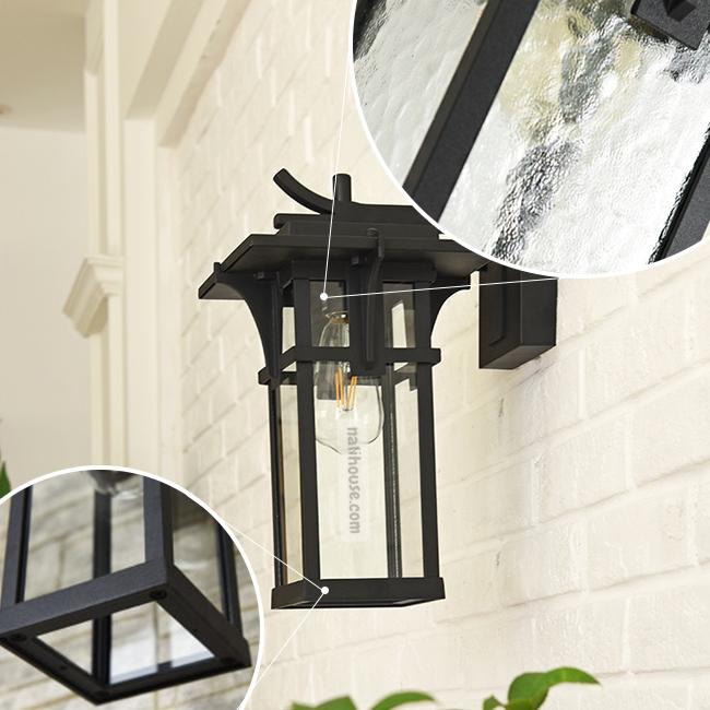 Chất liệu hung chiếc đèn bền nhẹ, chao đèn bằng thủy tinh