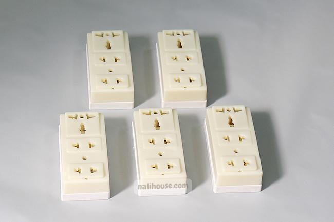 Ổ cắm điện gắn tường nổi GTN01