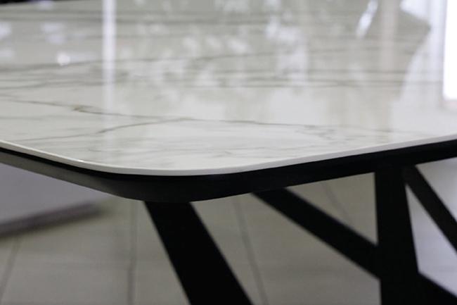 Mặt bàn acrylic sáng bóng, sang trọng