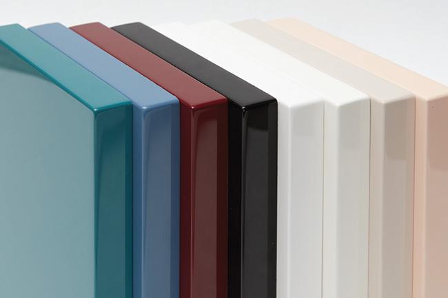 Nhựa acrylic có nhiều màu sắc khác nhau