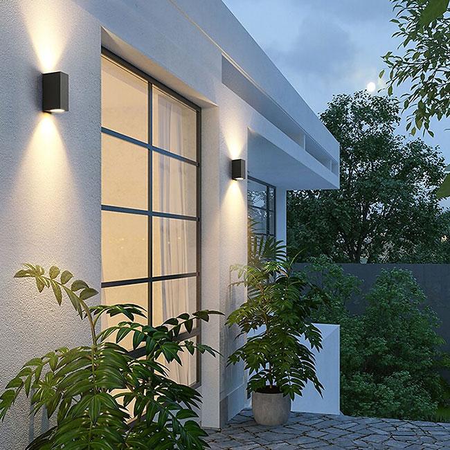 Những chiếc đèn decor hiện đại có các đường nét thiết kế đơn giản, không cầu kỳ