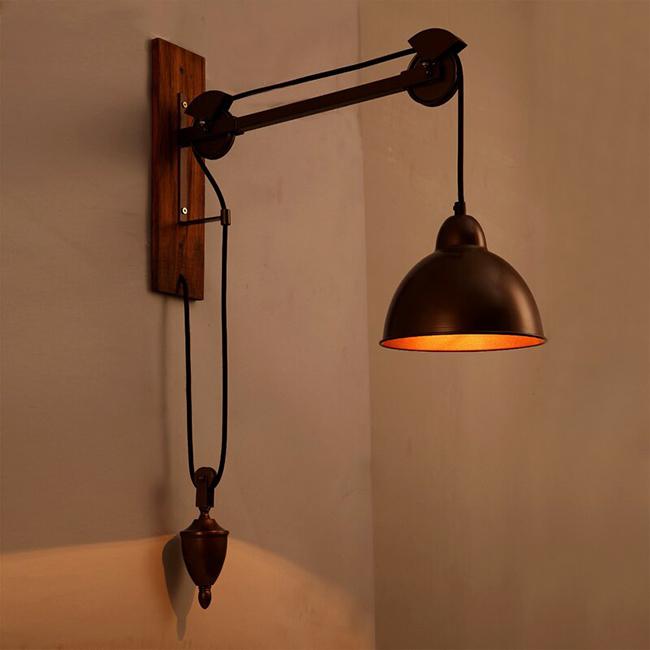 Màu sắc đèn kiểu cổ thể hiện nét cổ xưa, mộc mạc