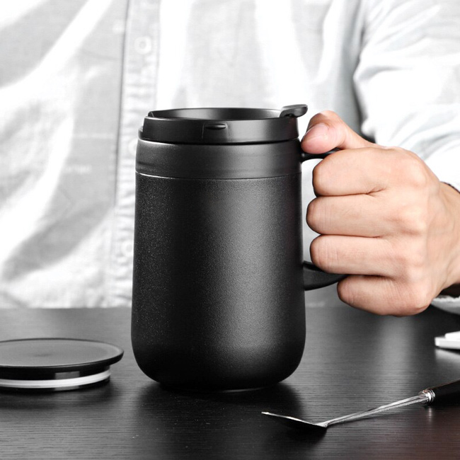 Bình nước giữ nhiệt đựng café, trà, nước sâm cho dân văn phòng, người đi làm
