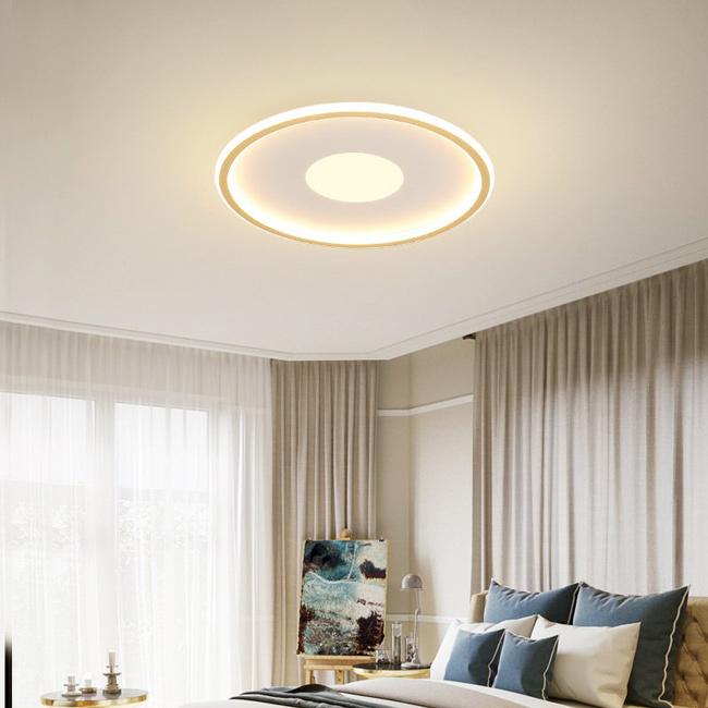 Đèn mâm ốp trần là một dạng đèn trang trí có tính thẩm mỹ cao