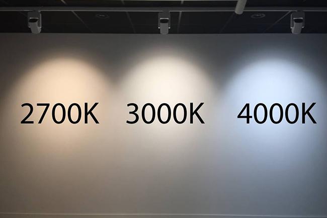 Nhiệt độ màu của đèn LED 2700K - 3000K