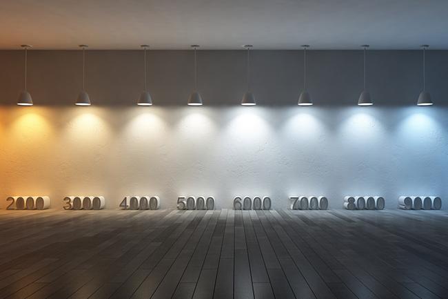 Nhiệt độ màu của đèn LED 6000K - 7000K