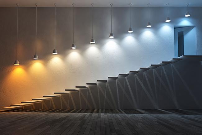 Nhiệt độ màu của đèn LED 8000K - 10000K