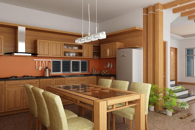 Đồ gỗ nội thất gia đình mộc mạc, sang trọng