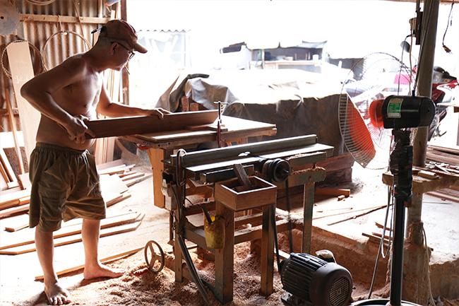 Các vật dụng đồ gỗ nội thất gia đình NaLi House cung cấp