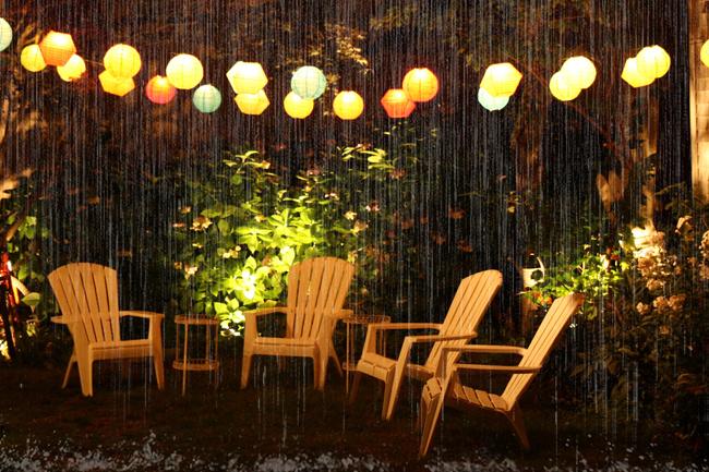 Đèn LED trang trí ngoài trời chống thấm nước an toàn