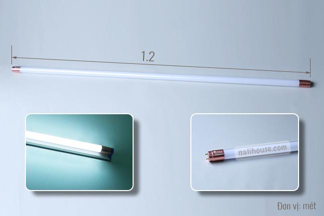 Công suất mạnh mẽ, siêu sáng của đèn tuýp LED